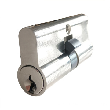 Double Open Solid Brass Euro Profile Lock Cylinder